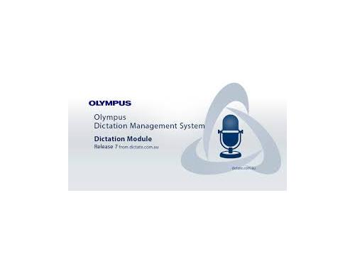 Olympus ODMS Pro Dictation Module Release 7 AS9001
