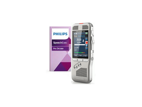 Philips DPM8100 Recorder with 2 Year SpeechExec Pro Dictate 11 License