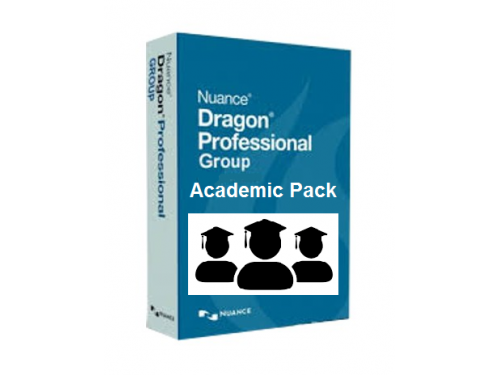 Dragon Professional Group for Academic - 5 Pack