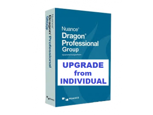 Dragon Professional Group Upgrade from Individual