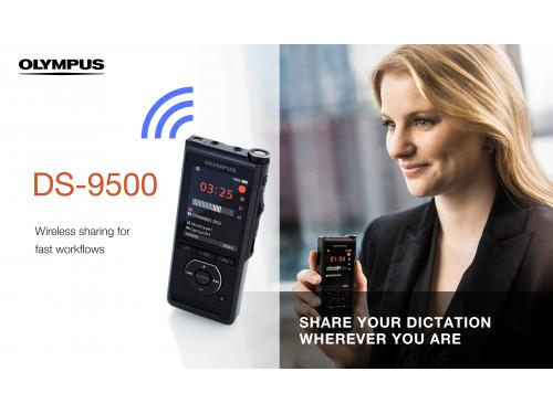 Olympus Transcription Starter Kit - DS9500 & AS9000