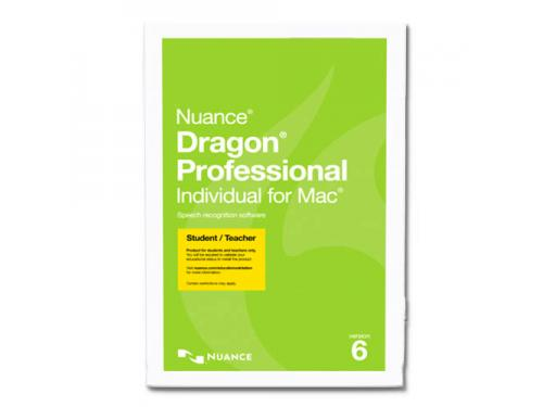 Dragon Professional Individual For Mac 6 Student Teacher