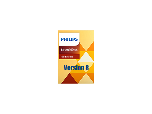 Philips SpeechExec Pro Dictate Version 8 - dictation software for PC and Mac
