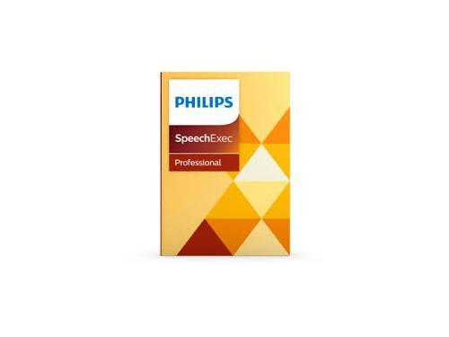 Philips SpeechExec Pro Dictation Software Version 10