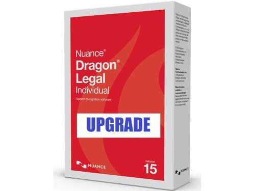 Upgrades to Dragon Legal Individual 15 speech recognition software, dragon professional, dragon legal, dragon academic, dragon for government