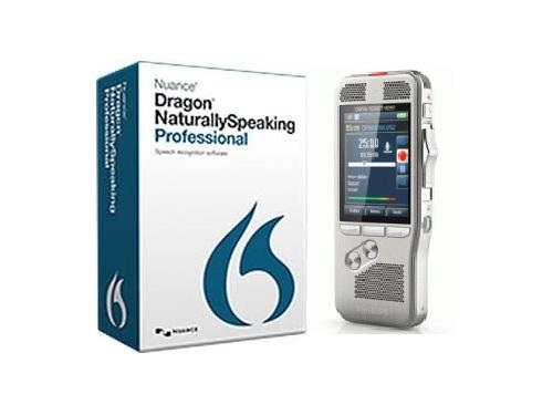 Philips DPM8100 Pocket Memo Recorder with Dragon Professional software