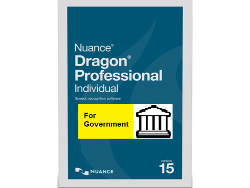 Dragon Professional Individual for Government on USB
