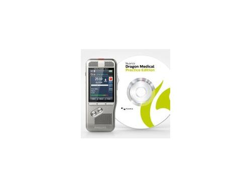 Philips DPM8000 Pocket Memo Recorder with Dragon Medical Practice Edition