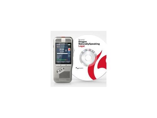 Philips DPM8000 Pocket Memo Recorder with Dragon Naturally Speaking Legal software