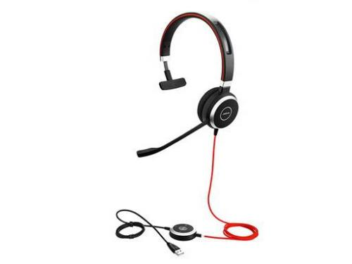 Jabra Evolve 40 UC MS Stereo Wired Headset