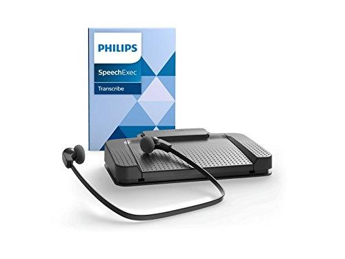 Philips LFH7177 Transcription Kit with SpeechExec Pro Transcribe V10 entry level