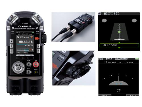 Olympus Metronome Music Recorder with two XLR Inputs - LS100
