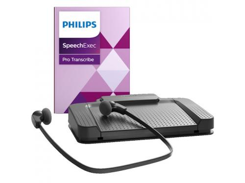 Philips Transcription Kit with SpeechExec Pro 10 Speech Recognition