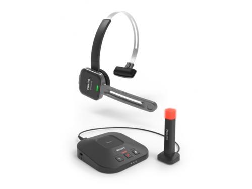 SpeechOne Wireless Headset with Dock, Status Light - PSM6300
