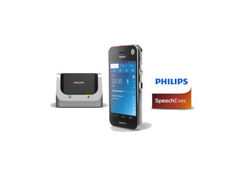 Philips SpeechAir dictation recorder with SpeechExec Pro Dictate version 10 software