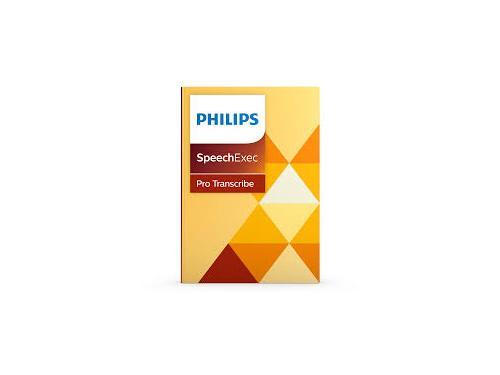 Philips SpeechExec Pro Transcribe Software Version 10